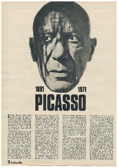 1881-1971, Picasso
