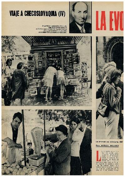 Viaje a Checoslovaquia IV: La evolución de la revolución