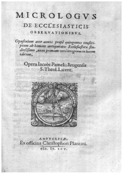 Micrologus de ecclesiasticis obseruationibus