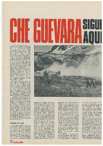 Che Guevara sigue aquí