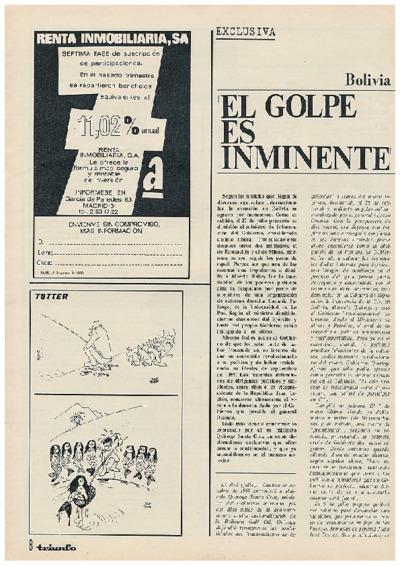 """""""El golpe es inminente"""""""
