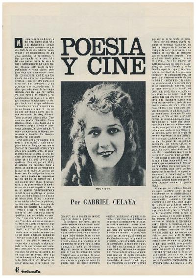 Poesía y cine