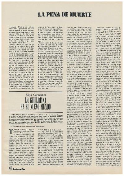 Image from object titled La guillotina en el nuevo mundo