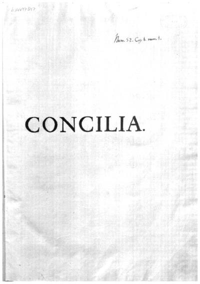 Conciliorum omnium generalium et prouincialium collectio regia