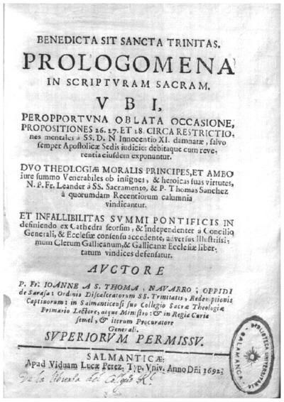 Prologomena in Scripturam Sacram.