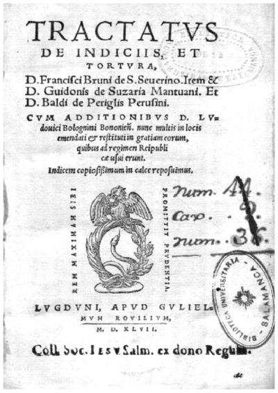 Tractatus de indicijs et tortura; Vtilis et practicabilis tractatus de indicijs et tortura /
