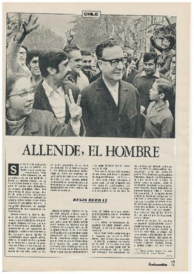 Allende, el hombre