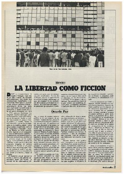 La libertad como ficción