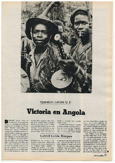 Operación Carlota (y 2): Victoria en Angola