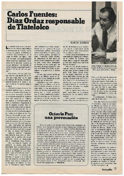 Octavio Paz: una provocación