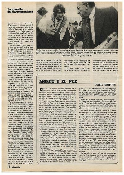 Moscú y el PSE