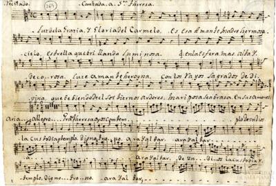 Cantada a Santa Teresa. Luz de la gracia y gloria del Carmelo