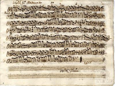 Misa [a cuatro con violines y trompas]