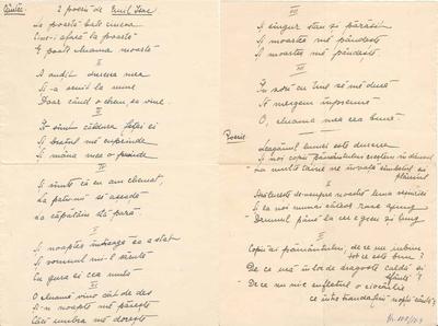 "Emil Isac : ""Cântec"" şi ""Poesie"" : [poeme]"