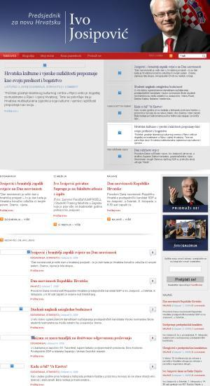 Josipovic.hr; Ivo Josipović; :Ivo Josipović za predsjednika