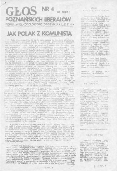 Głos Poznańskich Liberałów