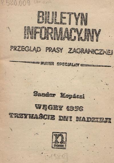 Biuletyn Informacyjny