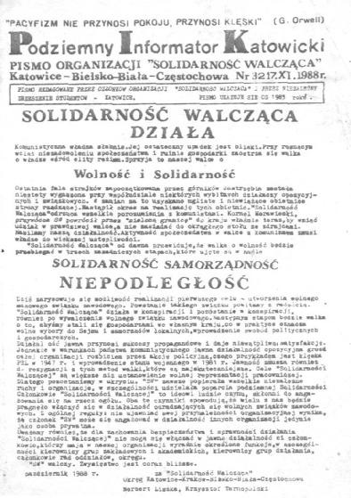 Podziemny Informator Katowicki