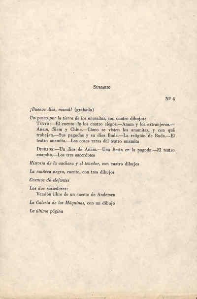 La Edad de Oro: publicación mensual de recreo e instrucción dedicada a los niños de América, Outubro de 1889, Ano 1889, nº 4 (e último)