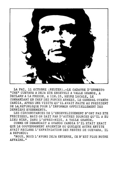 Libération (?), Outubro de 1967