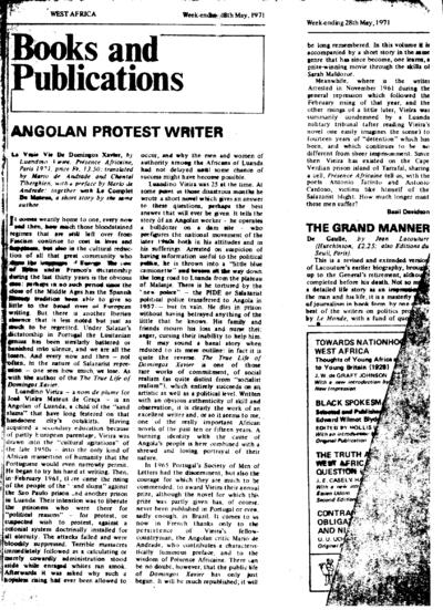 Sem título, Sexta, 28 de Maio de 1971
