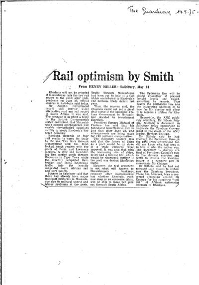 The Guardian, Domingo, 14 de Setembro de 1975