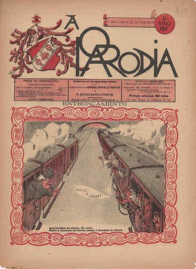 A Paródia, Quarta, 20 de Fevereiro de 1901, Ano 2, nº 58