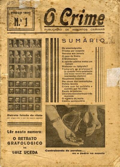 O crime: publicação de assuntos criminais