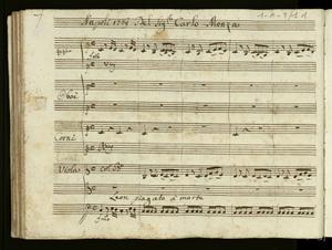 *Napoli 1769 Del Sig.r Carlo Monza / Leon piagato a' morte