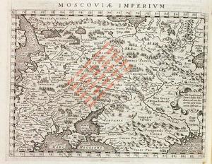 Moscoviae Imperium : *Descrittione dell'Imperio della Moscovia