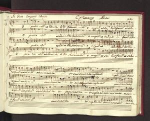"""O pretiosum et admirabile (""""N. 46 In festo Corporis Christi / Costanzo Porta"""")"""