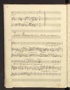 """Arietta per soprano"""")"""