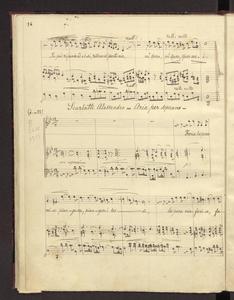 """Aria per soprano"""")"""