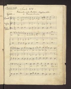 """Angelica belta' (""""Ritornello della Ballata """"Angelica Belta'"""" di Francesco Landino"""")"""