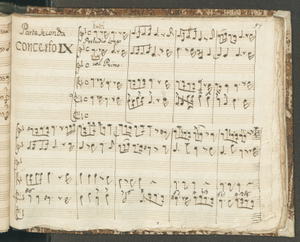 Parte Seconda   Concerto IX