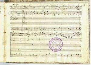 Venezia / Duetto del / Sig.r Giuseppe / Scarlati [MANOSCRITTO]