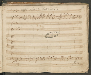 Pergolese Orig.le Nell'Op. Sallustia