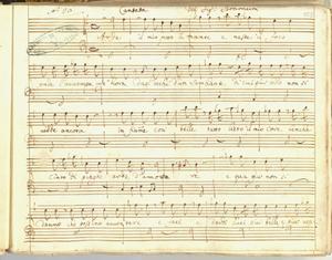 Cantata del Sig.Bononcini [MANOSCRITTO]
