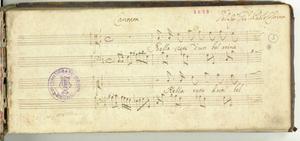 Cantata Del Sig.r Gio.Paolo Colonna [MANOSCRITTO]