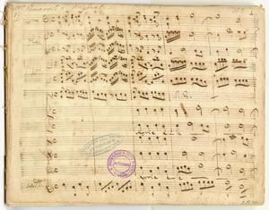 Composizioni vocali sacre [MANOSCRITTO]