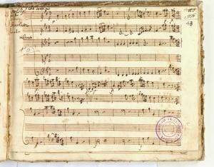 Del Sig.r/Giuseppe Scarlatti [MANOSCRITTO]