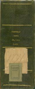 Oratorio a quattro Voci con Cori / Musica / Del Sign.r D. Giuseppe Farinelli / Cembalo