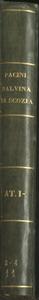Malvina di Scozia | Tragedia lirica in tre atti Poesia di Salvatore Cammarano | Musica | Del M.o Pacini | Rappresentata nel Real Teatro S.Carlo l'anno 1851 | Atto Primo