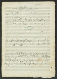 Vendo Fiori | Melodia affettuosa di Lauro Rossi | Marzo 1879