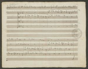 Fuga su tema del M.o Nicola d'Arienzo, composta all'esame finale dell'anno scolastico 1884-1885