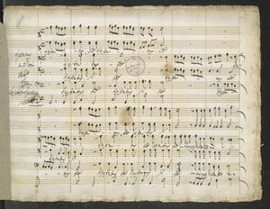 Laetatus   a 5 Voci   Febb.   1679   Cristoforo Caresana