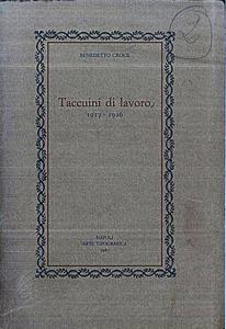 Taccuini di Lavoro (1917-19262)