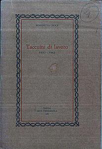 Taccuini di Lavoro (1937-19434)