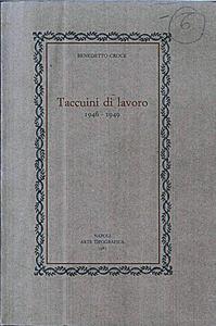 Taccuini di Lavoro (1946-19496)