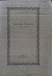 Taccuini di Lavoro (1927-19363)